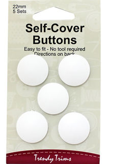 Self-Cover Buttons 22MM