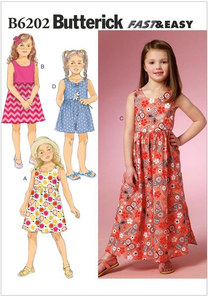 6202 Butt Sewing Patterns Nz Dresses Childrens