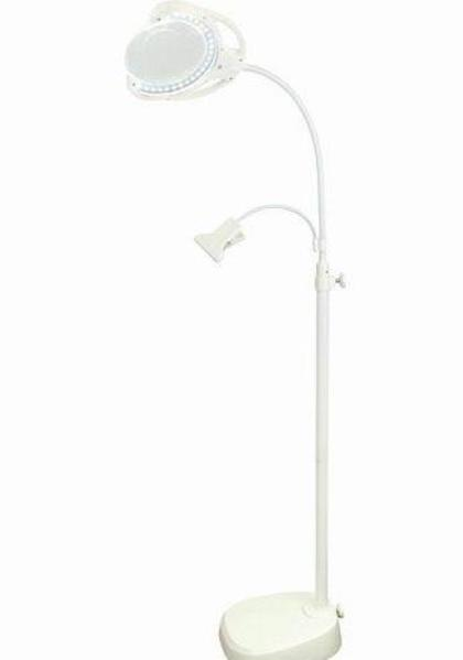 LED  Rimless Floor/Desk Lamp  (rechargeable)